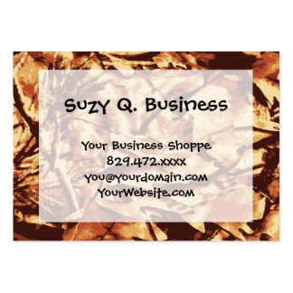 Brown Camo Camouflage Gifts for Hunters Pack Of Chubby Business Cards