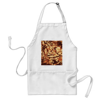 Brown Camo Camouflage Gifts for Hunters Standard Apron
