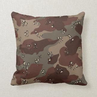 Brown Camo Cushion