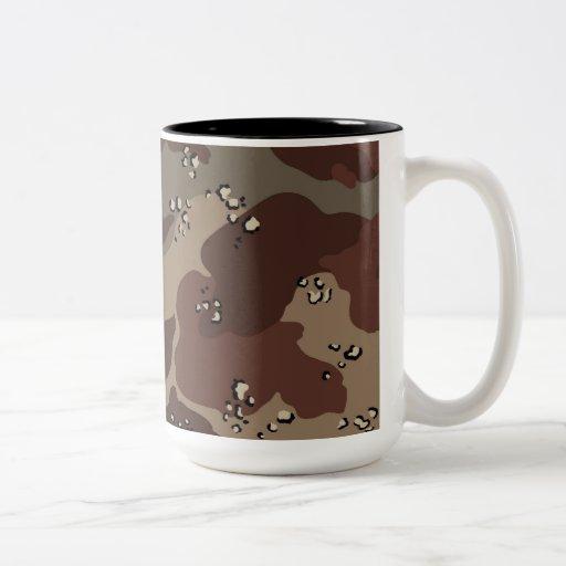 Brown Camo Mugs