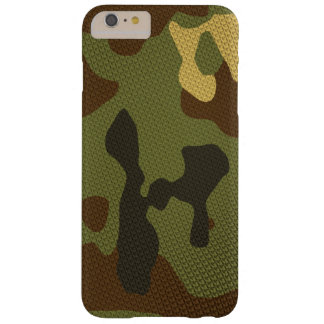 Brown Camouflage Barely There iPhone 6 Plus Case