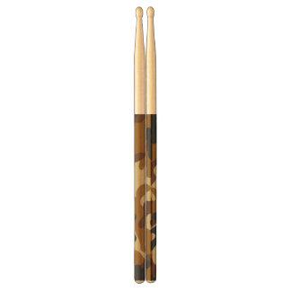 Brown Camouflage Drumsticks