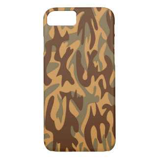 Brown Camouflage iPhone 8/7 Case