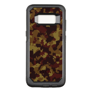 Brown Camouflage OtterBox Commuter Samsung Galaxy S8 Case