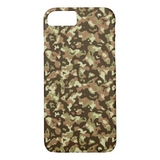 Brown Camouflage Phone Case