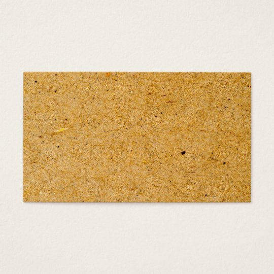 Brown Cardboard Background Texture Design Business Card