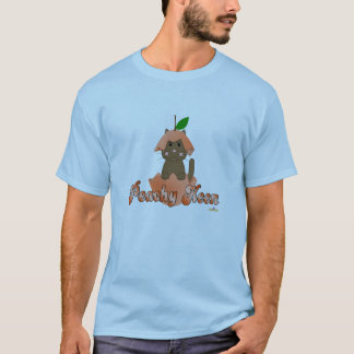 Brown Cat Peach Peachy Keen T-Shirt