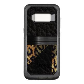 Brown Cheetah OtterBox Commuter Samsung Galaxy S8 Case