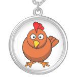 Brown Chicken  Necklace
