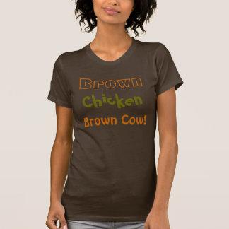 Brown Chicken Tee Shirt