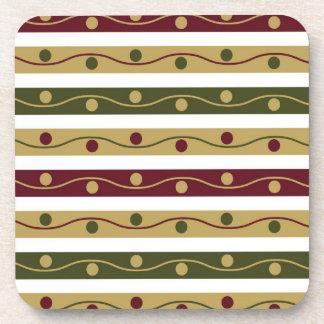 Brown Christmas Coasters