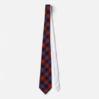 Brown Clan Tartan Tie