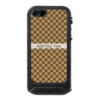 Brown Classic Checkerboard by Shirley Taylor Incipio ATLAS ID™ iPhone 5 Case