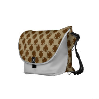 Brown Clover Ribbon Courier Bags