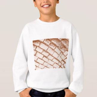 brown cobbles sweatshirt