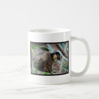 Brown Collared Lemur Coffee Mugs