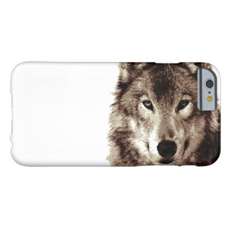 Brown Color Tones Wolf iPhone 6 Case Barely There iPhone 6 Case