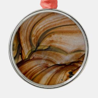 Brown colored Deschutes Jasper Christmas Ornament