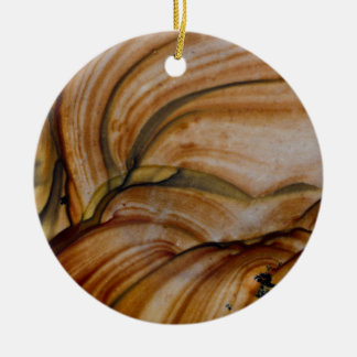 Brown colored Deschutes Jasper Christmas Ornament