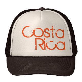 Brown Costa Rica Trucker Hat