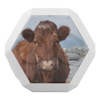Brown Cow White Boombot Rex Bluetooth Speaker