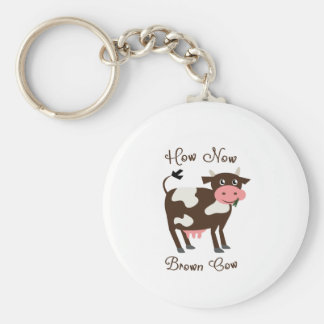 Brown Cow Keychains