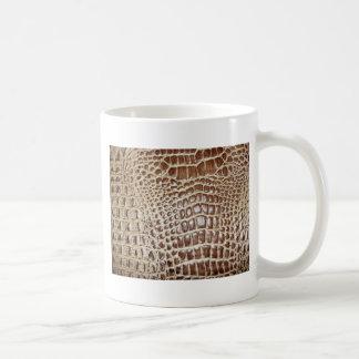Brown Cow Leather Customize w/ Name Coffee Mugs