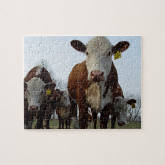 Brown Cow Puzzle