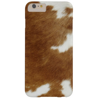 Brown Cowhide Print Barely There iPhone 6 Plus Case