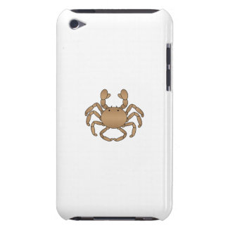 Brown crab barely there iPod cover