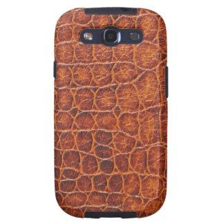 Brown Crocodile Skin Samsung Galaxy Case Samsung Galaxy S3 Case