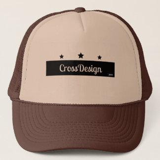 Brown CrosDesign cap