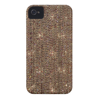 Brown Crystal Background Case-Mate iPhone 4 Case