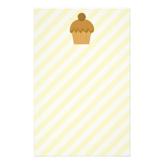 Brown Cupcake. Stationery