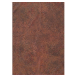 Brown Custom Grunge Leather Texture Tablecloth