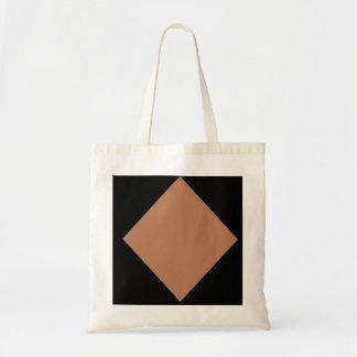 brown diamond Budget Tote