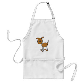 Brown Dog Tshirts and Gifts Aprons