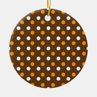 brown dotted colorful backgrounds christmas ornament