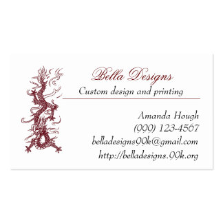 Brown Dragon Business Cards