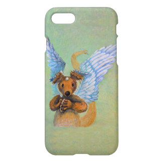 Brown Dragon With White Wings iPhone 7 Case