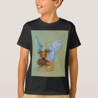 Brown Dragon With White Wings T-Shirt