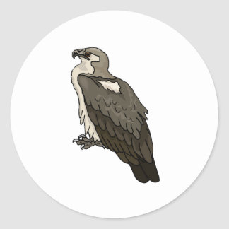 Brown Eagle Stickers