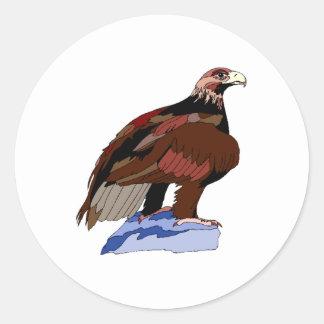 Brown Eagle Sticker