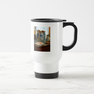 Brown Eggs and Ginger Jars Stainless Steel Travel Mug