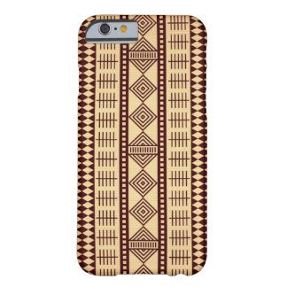 Brown ethnic texture barely there iPhone 6 case