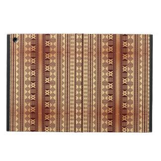 Brown ethnic texture iPad air case