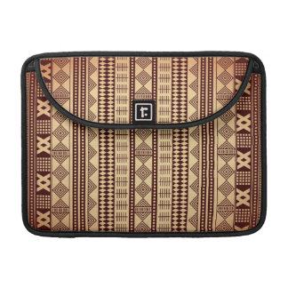 Brown ethnic texture sleeve for MacBook pro
