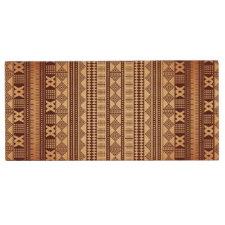 Brown ethnic texture wood USB flash drive