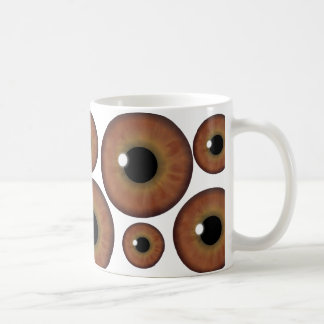 Brown Eye Iris Cool Custom Mug