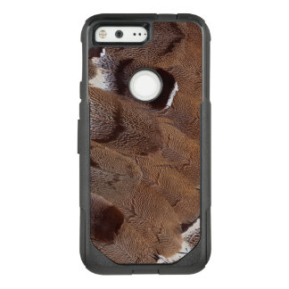 Brown Feather Design OtterBox Commuter Google Pixel Case